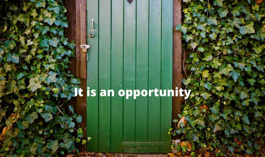How to look at our isolation as an opportunity